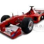 Ferrari F2000 Michael Schumacher Elite Edition 1 of 5555 Made 1/18 Diecast Model Car by Hotwheels