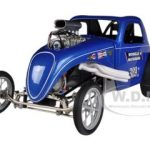 Mondello & Matsubara Altered Fiat Topolino 1/18 Diecast Model Car by Acme