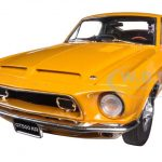 1968 Ford Shelby Mustang GT 500 KR Brilliant Orange WT 5014 Release #3 Limited to 870pc 1/18 Diecast Car Model by Acme