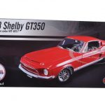1968 Ford Shelby Mustang GT 350 Red  WT Color Code 4017 Release #4 Limited Edition to 462pcs 1/18 Diecast Model Car by Acme