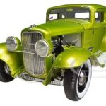 1932 Ford 5 Five Window Release #1 Lime Grand National Deuce Series Limited to 996pc  1/18 Diecast Model Car by Acme