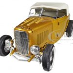 1932 Ford Roadster Release #2 in Majestic Pagan Gold 1/18 Diecast Car Model by Acme