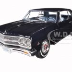 1965 Chevrolet Chevelle Malibu SS L79 Danube Blue Limited to 558pc 1/18 Diecast Model Car by Acme