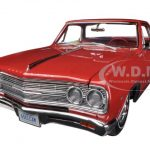 1965 Chevrolet El Camino L-79 Rally Red Limited to 750pc 1/18 Diecast Car Model by Acme