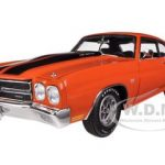 1970 Chevrolet Chevelle SS 454 LS6 Orange 1/18 Diecast Model Car by Acme