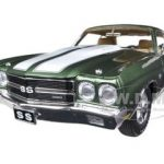 1970 Chevrolet Chevelle 454 LS3 Pilot Car Green 1st Documented Chevelle LS6 Ever Made Limited to 996pc 1/18 Diecast Model Car by Acme
