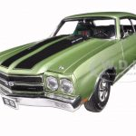 1970 Chevrolet Chevelle SS 396 Sea Mist Green Limited to 396pc 1/18 Diecast Model Car by Acme