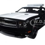 Dodge Challenger SRT8 Texas Highway Patrol with working LED Light Bar Limited Edition to 456pcs 1/18 Diecast Model Car by Acme