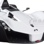 BAC Mono Metallic White 1/18 Model Car by Autoart