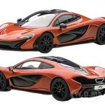 Mclaren P1 Metallic Orange 1/43 Diecast Car Model by Autoart