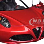 Alfa Romeo 4C Competition Red 1/18 Model Car by Autoart