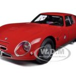 1965 Alfa Romeo TZ2 Red 1/18 Diecast Car Model by Autoart