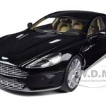 Aston Martin Rapide Black 1/18 Diecast Model Car by Autoart