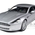 Aston Martin Rapide Silver 1/18 Diecast Model Car by Autoart