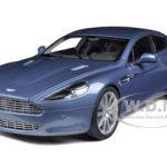 Aston Martin Rapide Concours Blue 1/18 Diecast Car Model by Autoart