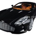 Aston Martin One 77 Black Pearl 1/18 Diecast Car Model by Autoart