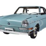 BMW 700 Sport Coupe Ceramic Blue 1/18 Diecast Car Model by Autoart