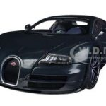 Bugatti Veyron Super Sport Edition Dark Blue 1/18 Diecast Car Model by Autoart