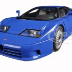 Bugatti EB110 GT Blue 1/18 Diecast Model Car by Autoart