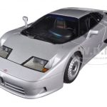 Bugatti EB110 GT Silver 1/18 Diecast Car Model by Autoart