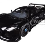 Gumpert Apollo S Black 1/18 Diecast Car Model by Autoart