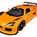 Gumpert Apollo S Metallic Orange 1/18 Diecast Car Model by Autoart
