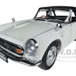 1966 Honda S800 Roadster White 1/18 Diecast Car Model by Autoart