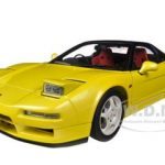 1992 Honda NSX Type R Yellow 1/18 Diecast Car Model by Autoart