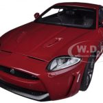 Jaguar XKR-S Italian Racing Red 1/18 Diecast Car Model by Autoart