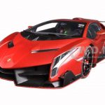 Lamborghini Veneno Red 1/18 Diecast Model Car by Autoart