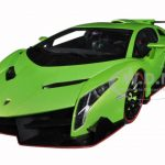 Lamborghini Veneno Green 1/18 Diecast Model Car by Autoart