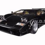 Lamborghini Countach 25th Anniversary Edition Black 1/18 Diecast Model Car by Autoart