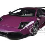 Lamborghini Murcielago LP670-4 SV Super Veloce Purple / Viola Ophelia 1/18 Diecast Model Car by Autoart