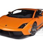 Lamborghini Gallardo LP570-4 Superleggera Metallic Orange 1/18 Diecast Car Model by Autoart