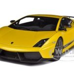 Lamborghini Gallardo LP570-4 Superleggera Metallic Yellow 1/18 Diecast Car Model by Autoart