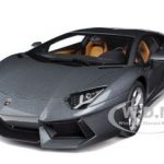 Lamborghini Aventador LP700-4 Grigio Estoque / Metallic Grey 1/18 Diecast Model Car by Autoart