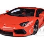 Lamborghihi Aventador LP700-4 Arancio Argos/Pearl Orange 1/18 Diecast Car Model by Autoart