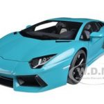 Lamborghini Aventador LP700-4 Turquoise 1/18 Diecast Car Model by Autoart