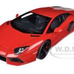 Lamborghini Aventador LP700-4 Red/Rosso Andromeda 1/18 Diecast Car Model by Autoart