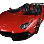 Lamborghini Aventador J Metallic Red 1/18 Diecast Car Model by Autoart