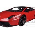 Lamborghini Gallardo LP570 Supertrofeo Stradale Red / Rosso Mars 1/18 Diecast Car Model by Autoart