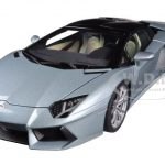 Lamborghini Aventador LP700-4 Roadster Blue/Azzuro Thetis 1/18 Diecast Car Model by Autoart