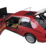 Lancia Delta S4 Red 1/18 Diecast Model Car by Autoart