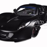 Hennessey Venom GT Matt Carbon Black 1/18 Diecast Model Car by Autoart