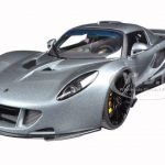 Hennessey Venom GT Silver 1/18 Diecast Model Car by Autoart