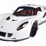Hennessey Venom GT White 1/18 Diecast Model Car by Autoart