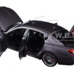 2015 Maserati Quattroporte GTS Maratea Grey 1/18 Diecast Model Car by AutoArt