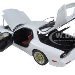 Mazda RX-7 (FD) Tuned Version Pure White 1/18 Diecast Model Car by AutoArt