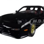 Mazda RX-7 (FD) Tuned Version Brilliant Black 1/18 Diecast Model Car by AutoArt