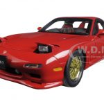 Mazda RX-7 (FD) Tuned Version Vinatge Red 1/18 Diecast Model Car by AutoArt